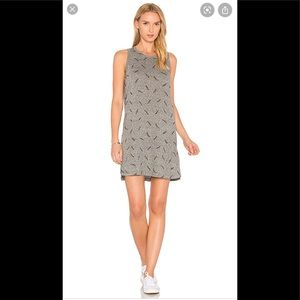 Current Elliot Muscle Tee Feather Tank Dress Gray